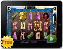 Judge Dredd free iPad pokies