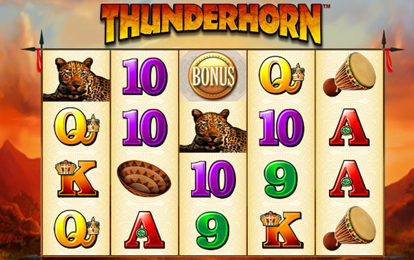 Review of Thunderhorn Pokies Machine & FREE Play