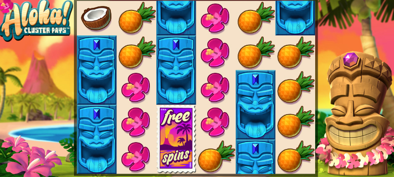 Aloha Cluster Pays NetEnt Free Slot & Game Guide