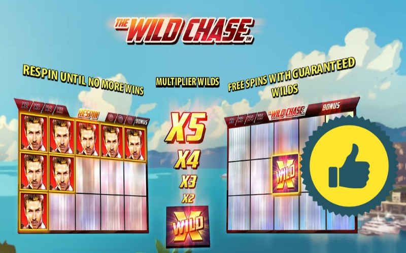 The wild chase pokies guide