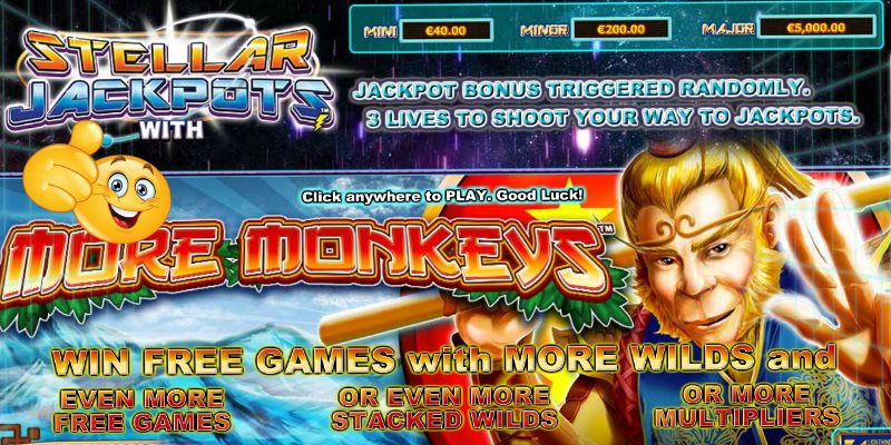 Stellar Jackpots with More Monkeys Slot Review