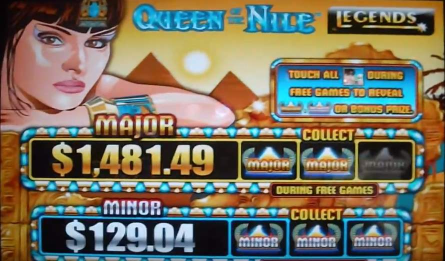 Queen of the Nile 2 Pokies Free Play Version