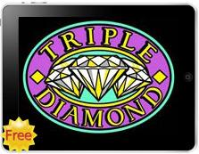Triple Diamond free mobile pokies