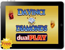 Davinci Diamonds Dual Play mobile pokies