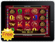50 Dragons free mobile slot
