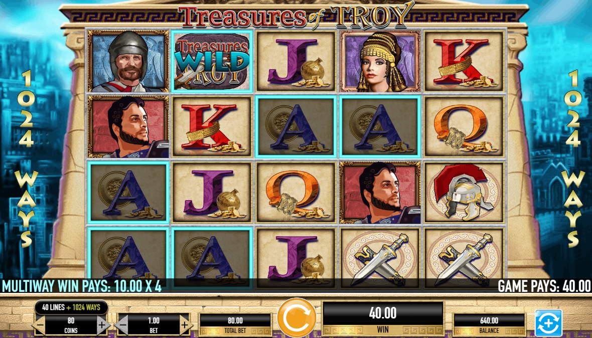 Spiele Treasures Of Troy - Video Slots Online