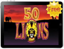 50 lions free iPad pokies