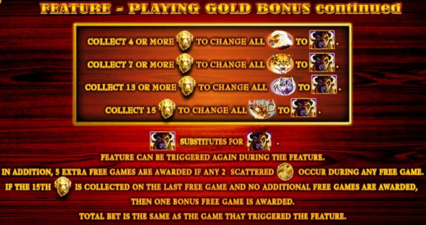 FREE Pokies Spin🤑Aristocrat Buffalo Gold Collection Slot ...