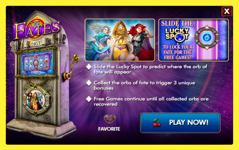 The Fates Free IGT Slot Game Guide