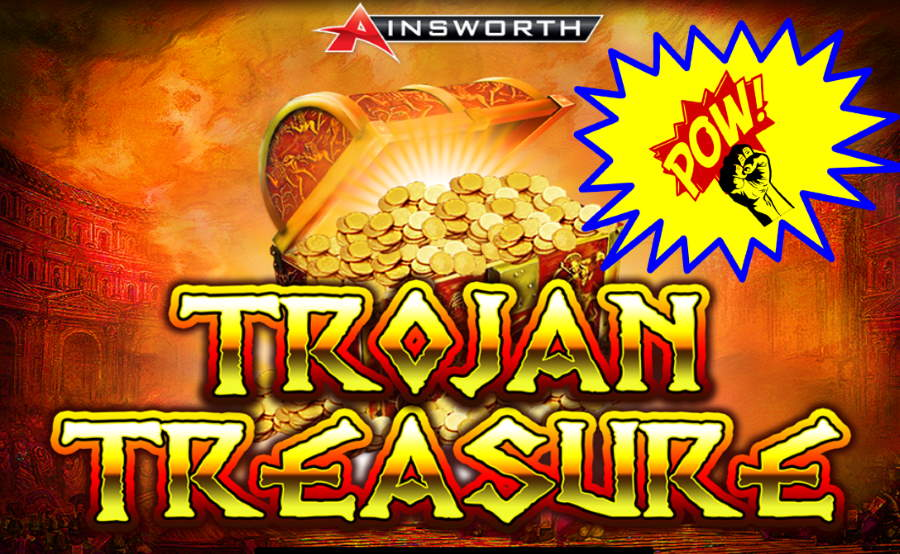Trojan Treasure Ainsworth Free Pokies Game