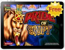 Pride of Egypt free mobile pokies