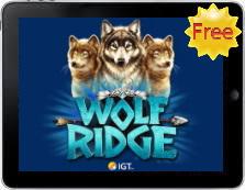 Wolf Ridge free mobile pokies