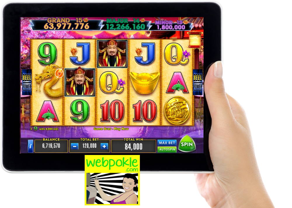Play Free Pokies Lightning Storm Fortune King Gold Slot Game