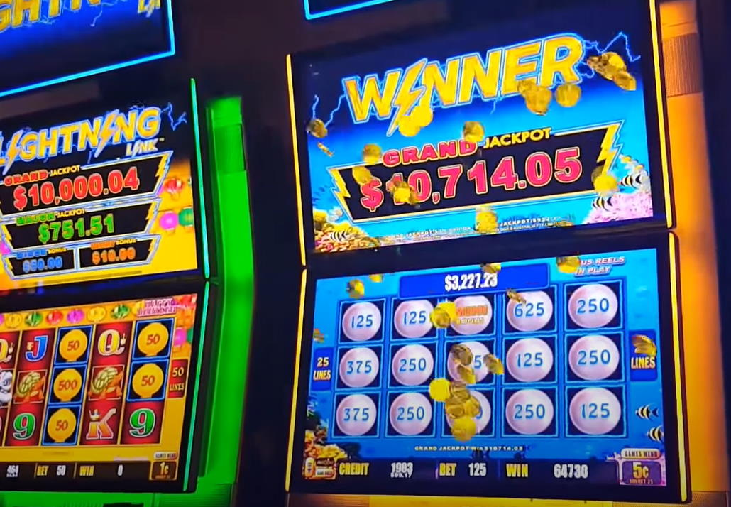 How to Win The Grand Jackpot⚡Aristocrat Lightning Link Pokies