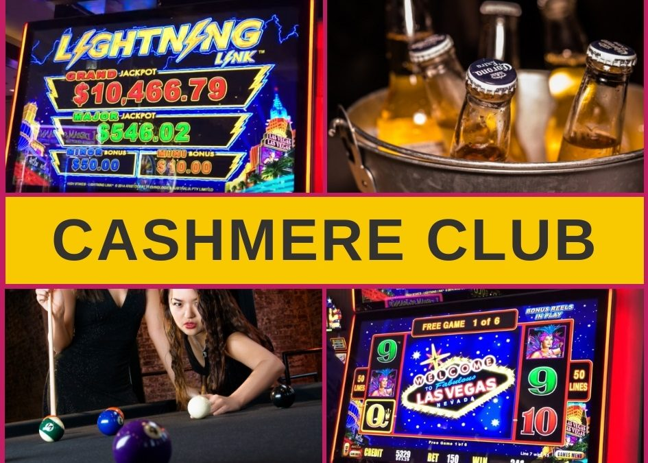 Cashmere Club Christchurch – Menu, Bar and Pokies Gaming