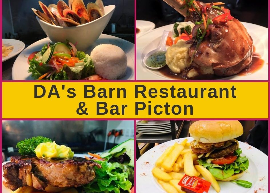 DA's Barn Restaurant & Bar Picton – Menu and Pokies Gaming Guide