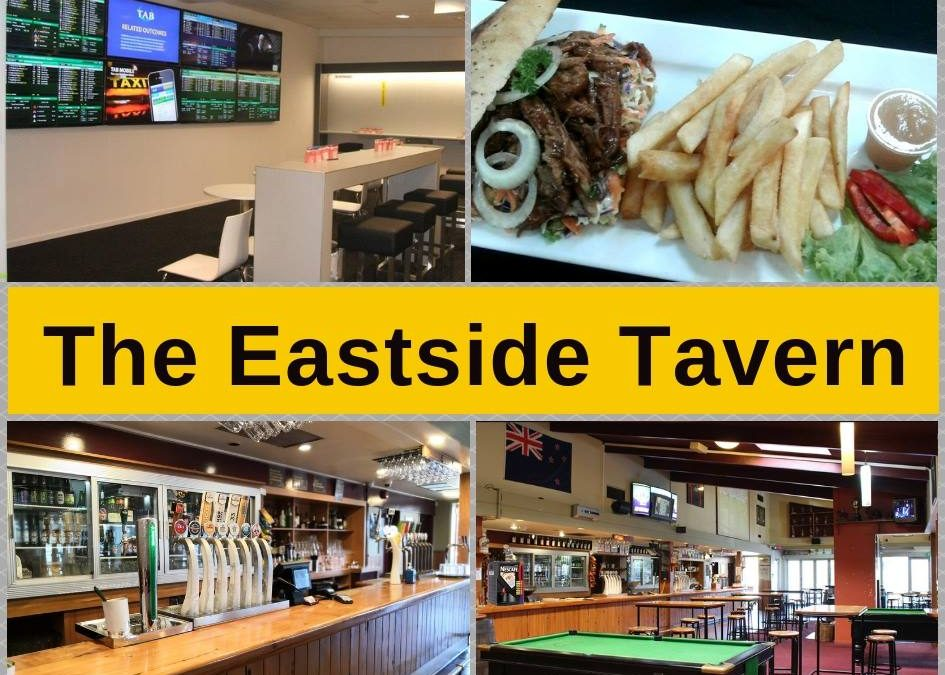 The Eastside Tavern & TAB, Menu, Bar & Pokies Gaming Lounge