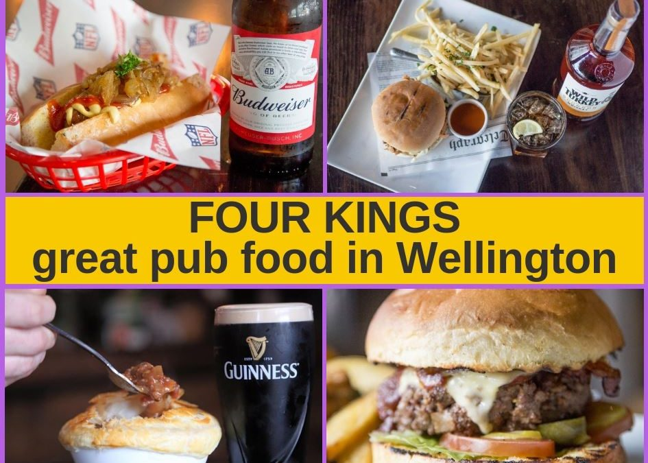 Four Kings Wellington – Bar, Menu and Pokies Gaming Lounge
