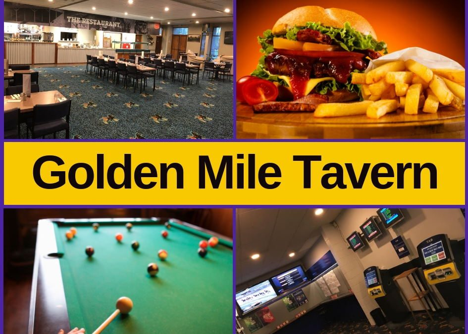 The Golden Mile Motel – Bar, Menu, Entertainment & Pokies Gaming