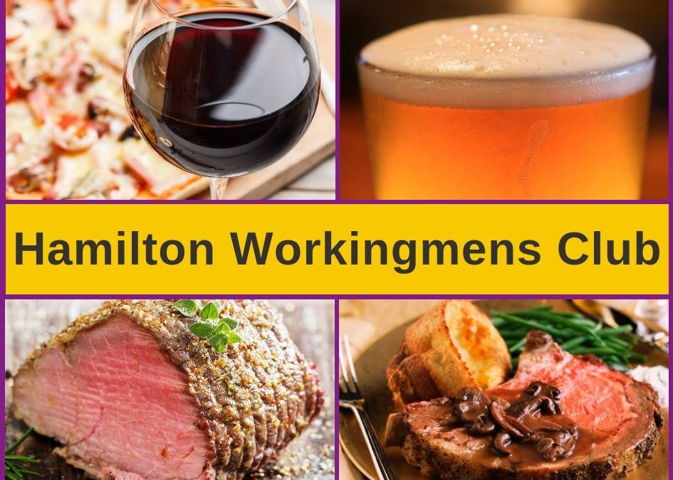 Hamilton Workingmen's Club – Menu, Bars & Pokies Gaming Lounge