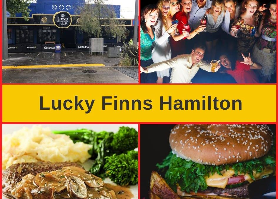 Lucky Finns Hamilton Bar, Restaurant Menu & Pokies Gaming Lounge