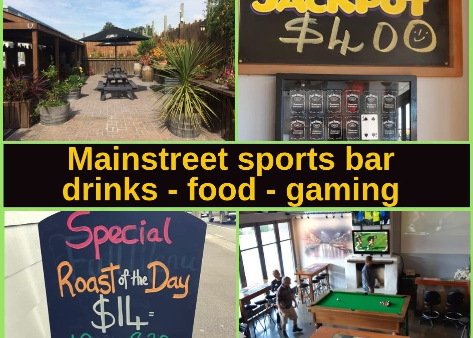 Mainstreet Sports Bar & Pokies Rangiora Guide