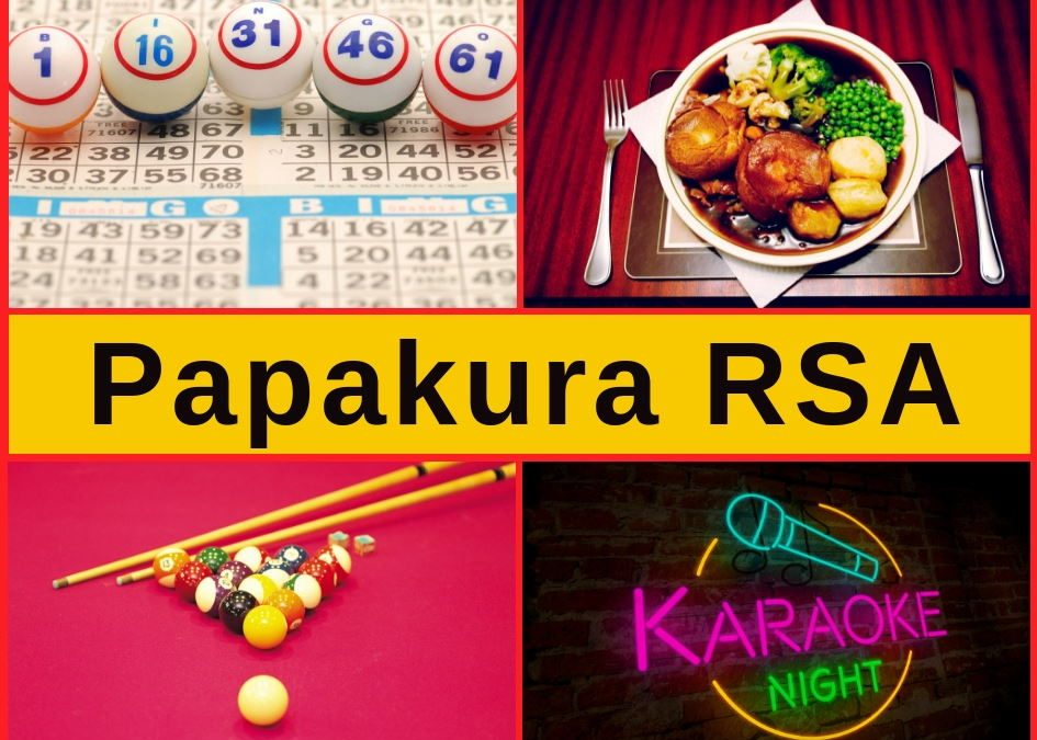 Papakura RSA – Bar, Menu, Entertainment & Pokies Gaming