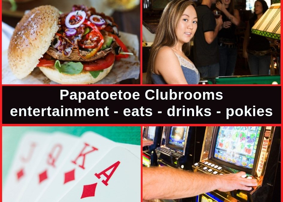 Papatoetoe Clubrooms Auckland Bar, Menu, Entertainment & Pokies Gaming