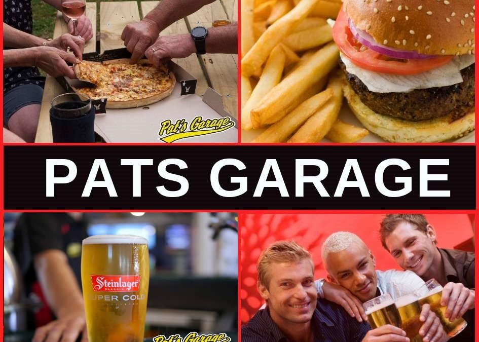 Pats Garage North Shore Auckland, Restaurant Menu, Bar & Pokies Gaming Lounge