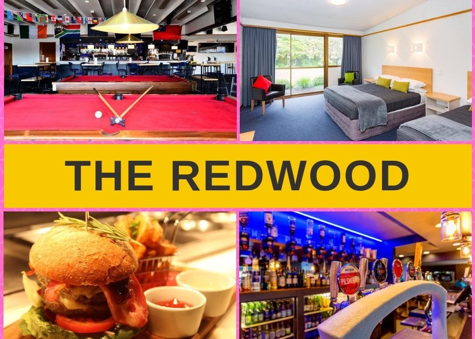 Redwood Hotel Christchurch – Bar, Menu, Pokies Gaming Guide
