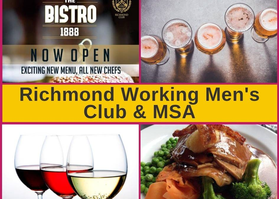 Richmond Working Men's Club in Christchurch Menu and Pokies Gaming Lounge