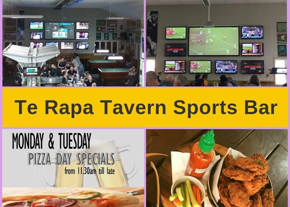 Te Rapa Tavern Hamilton, Restaurant Menu, Bar & Pokies Gaming Lounge