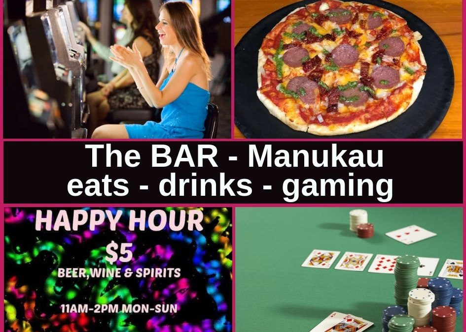 The Bar Manukau in Auckland Pokies Gaming Lounge