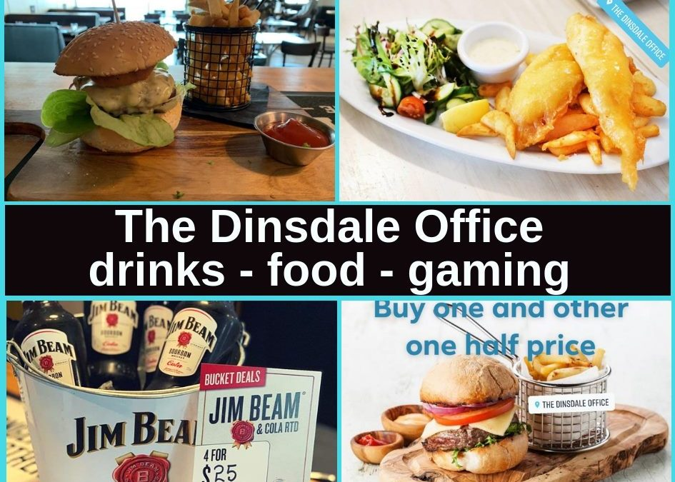 Dinsdale Office Bar & Pokies Gaming Lounge in Hamilton