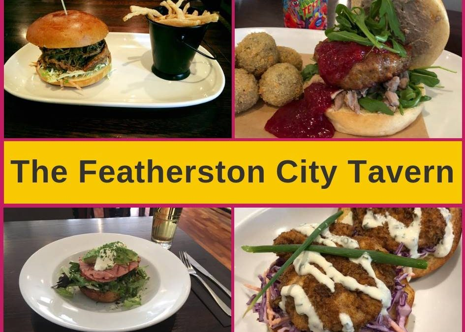 Featherston Bar and Grill Wellington Menu and Pokies Gaming