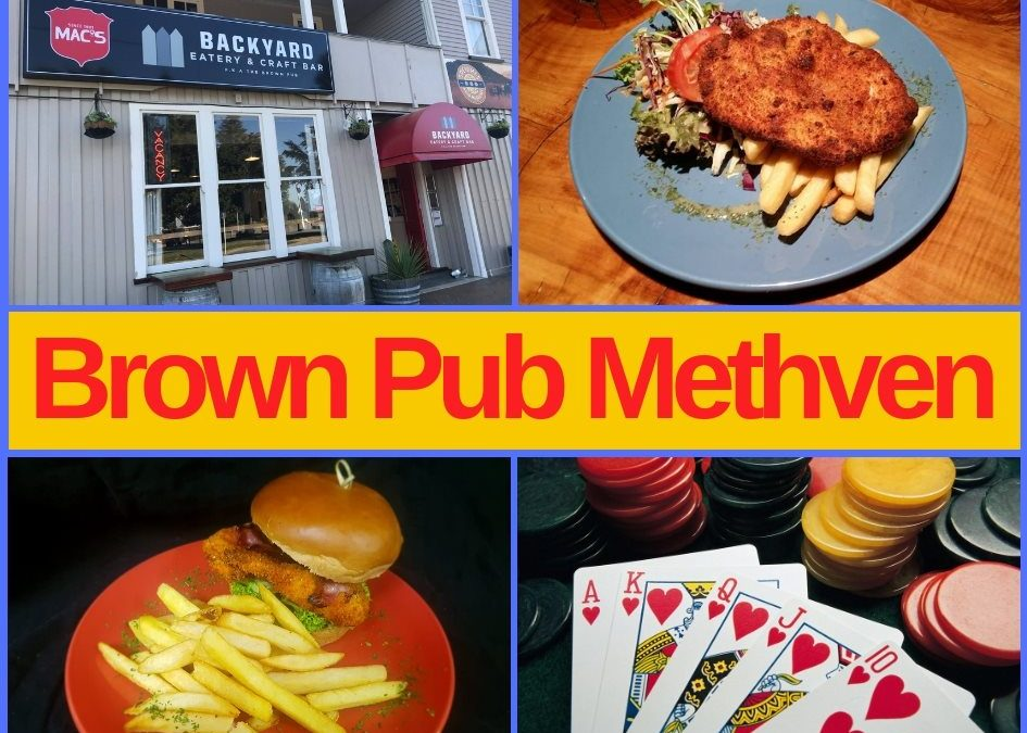 Brown Pub Methven Menu, Entertainment and Pokies Gaming Lounge