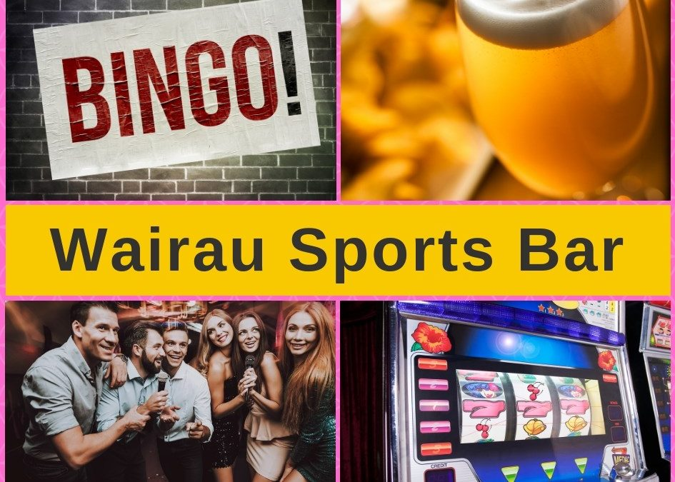 Wairau Sports Bar Glenfield – Menu and Pokies Gaming Guide