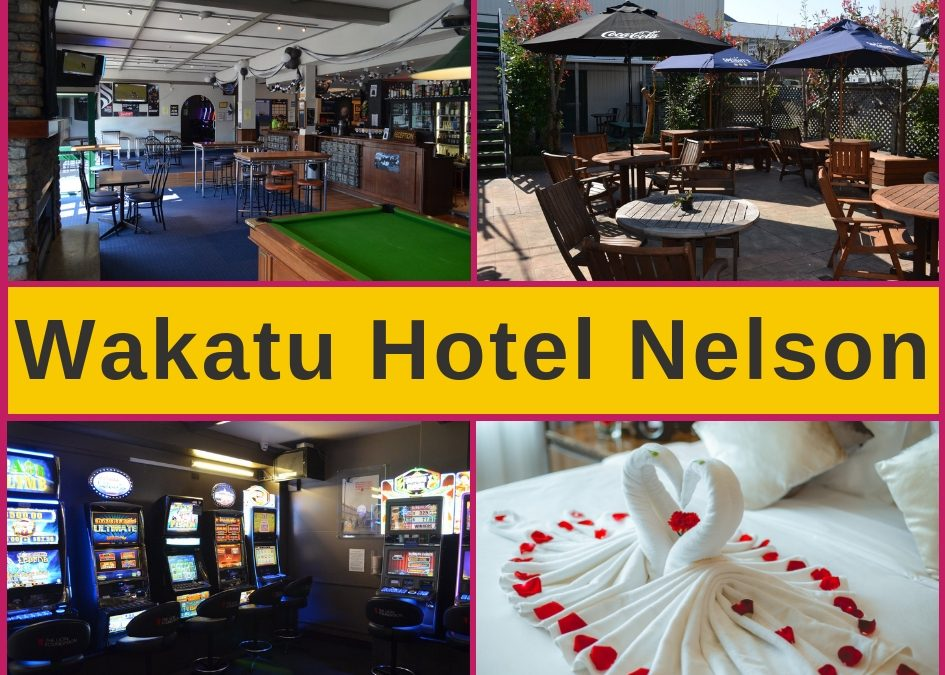 Wakatu Hotel Nelson – Menu, Bar and Pokies Gaming Lounge
